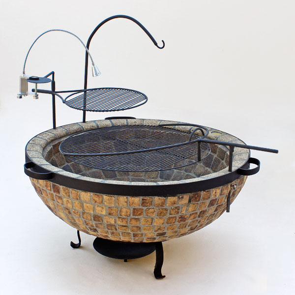 Boma Fire Pit 1100 Mosaic Finish Keith Hamilton