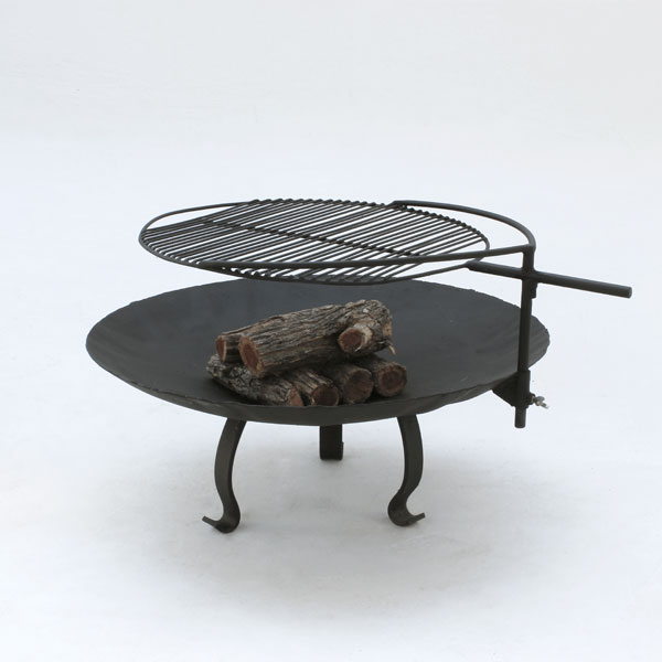 Fire Bowl 860 - Mild Steel with Accessories